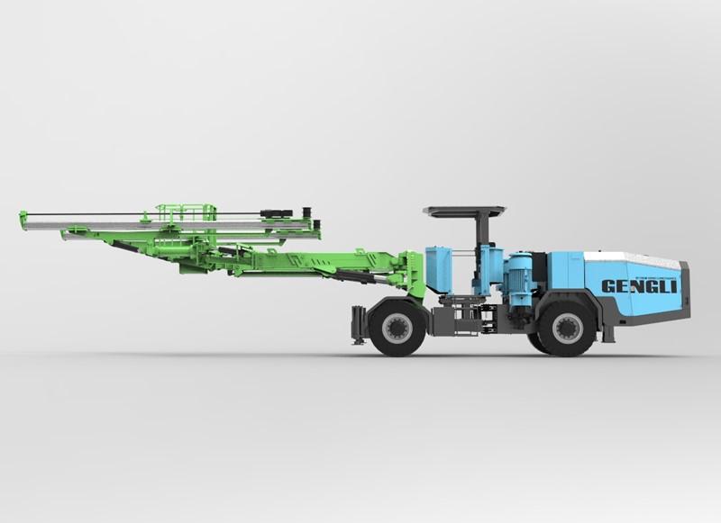 耿力新款掘进钻车——GZ1-II单臂掘进钻车